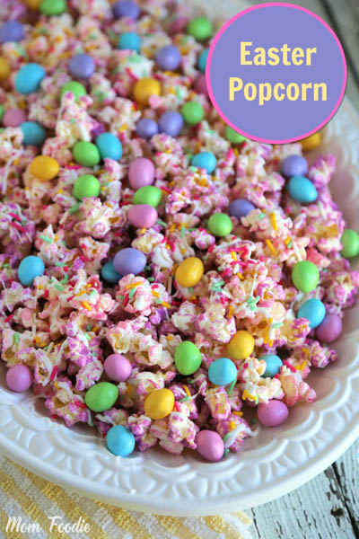 20 Easter Dessert Ideas: Easter Popcorn Recipe