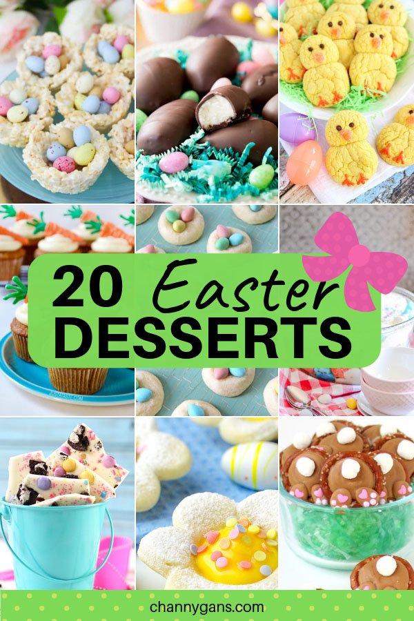 Easter desserts are always fun to make - and eat of course! These fun and festive Easter dessert ideas will make a great addition to your table this year.