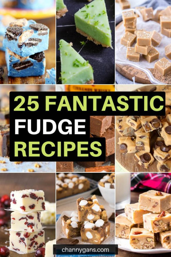 25 Fantastic Fudge Recipes. If you are looking for something to satisfy your sweet tooth or looking for a sweet treat to gift to someone, these fantastic fudge recipes are for you!