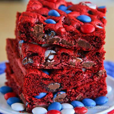 20 besten 4. Juli Dessert-Ideen: Rot, Weiß und Blau Bars