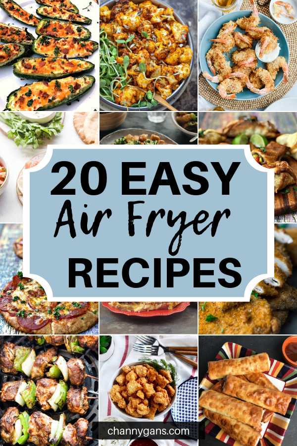 The best recipes to make in an air fryer! These easy air fryer recipes are a must try. Say goodbye to the traditional method of frying and opt for a much healthier version - the air fryer version.