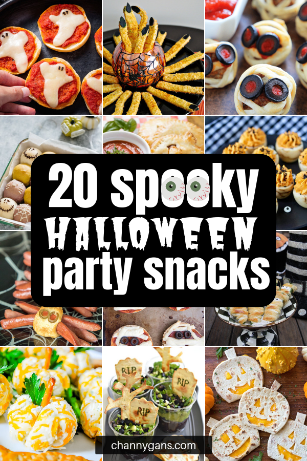 Halloween parties are always so much fun and with these 20 Halloween party appetizers, the guesswork about what to make is gone! These Halloween party appetizers and snacks are great for any Halloween get-together you've got planned this year!