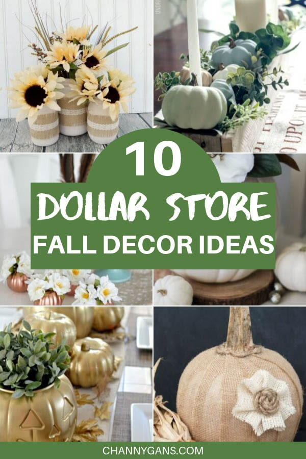 Ready to glam up your home for this fall season? With these dollar store fall decor ideas you can do that in no time - even if you are on a budget!