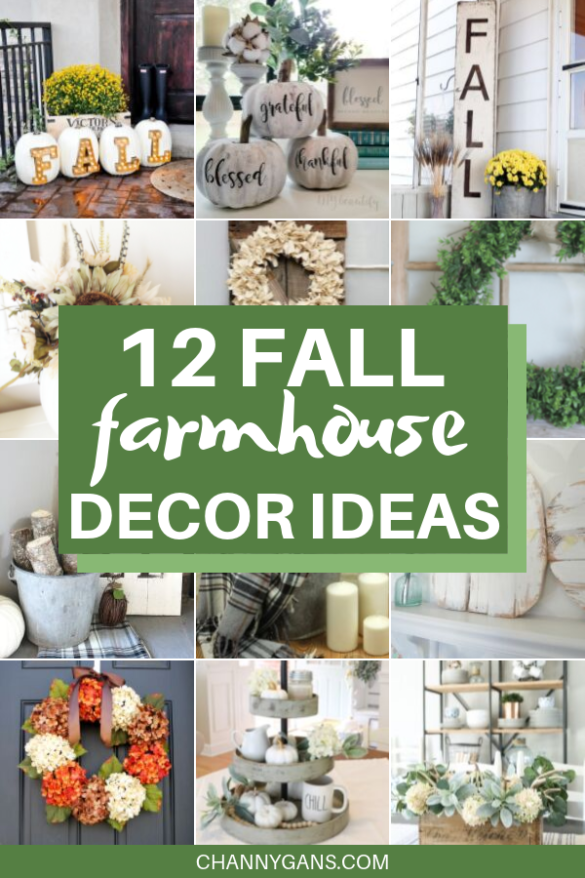 It's that time of the year again - grab your pumpkin spice and get ready for fall! And while you're at it, try some of these fall farmhouse decor ideas to spruce up your home.