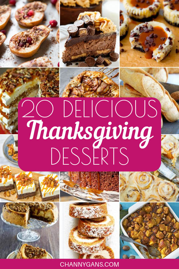 Thanksgiving is all about the pies – but why not try some of these Thanksgiving desserts that are most definitely not a pie? There is no shortage of delicious Thanksgiving dessert ideas – from cookies to cupcakes.