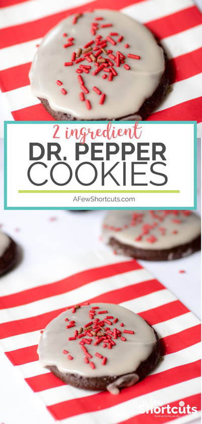 10 Easy 2 Ingredient Desserts: Dr Pepper Cookies