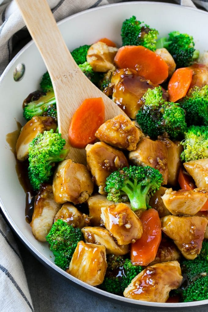Honey Garlic Chicken Stir Fry