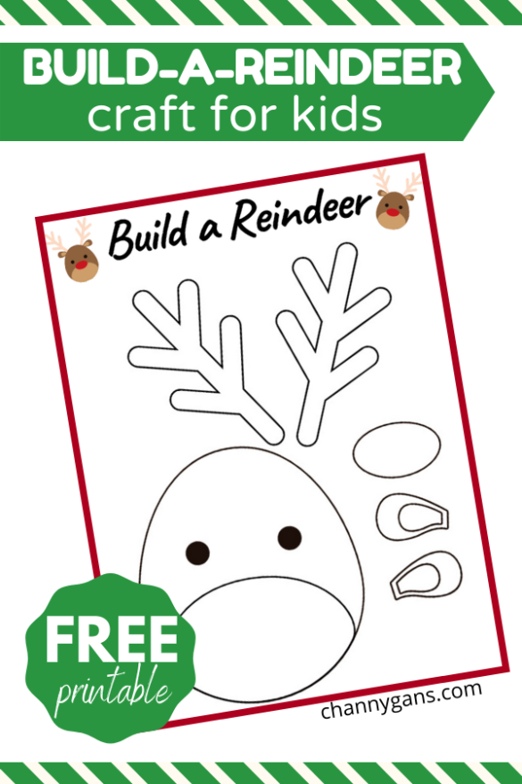 This free printable for kids is a great way to keep them entertained this holiday season.